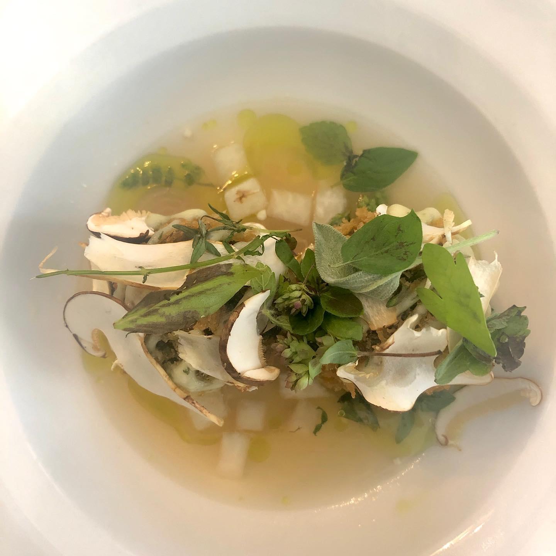 Hotelli Punkaharju keitto lautasella EAT